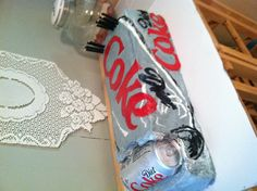 Diet coke cake-this is awesome.