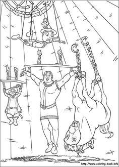 Shrek coloring picture