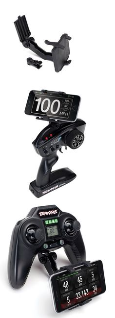 fits TQi and Aton transmitters TRAXXAS transmitter E-REVO Phone mount 6532