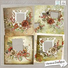 Natural Feelings Quickpage Set