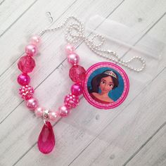 8 Princess Elena Necklace Party Favors Elena Birthday Party Activity Elena of…