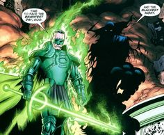 Alan Scott's Green Lantern from Kingdom Come is pretty much a straight up wizard!