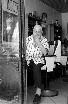 The Barber. In the old days the barber did more than cut hair. I remember going to the barber with my PawPaw and he did twice as much talking as he did cutting. Old men would just hang out and chit chat with each other. Haircuts back then were $3. Next time you need a haircut, skip the SuperCuts and find yourself a good old fashioned barber.