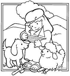 Resultado de imagem para desenhos bíblicos para colorir