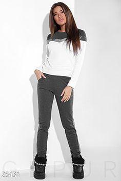 Gepur   Спортивный костюм аппликация арт. 20235 Цена от производителя,  достоверные описание, отзывы c006c810731