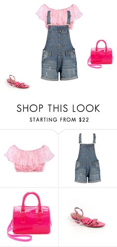 """""""Untitled #12764"""" by explorer-14576312872 ❤ liked on Polyvore featuring Victoria's Secret, Boohoo, Furla and Corso Como"""