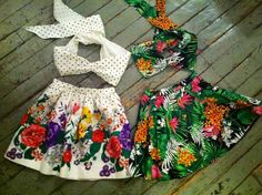 Summer can't come soon enough. Shareen Vintage.