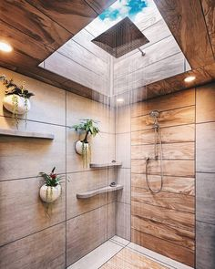 Best Indoor Plants Decor Ideas For Your Luxury Bathroom - Dream Home Design, Modern House Design, Bathroom Inspiration, Interior Design Inspiration, Design Ideas, Spa Design, Menu Design, Interior Ideas, Bathroom Goals