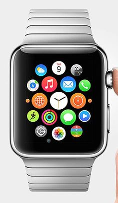 """Some are wondering whether they can use an Apple iwatch with an Android phone. The short answer is """"no"""", but you can still get the functionality of an Apple watch while using an Android phone. Iphone 5s, Apple Iphone, New Apple Watch, Apple Watch Series, Cool Gadgets, Tech Gadgets, Ipod, Cool Tech, Apple Products"""