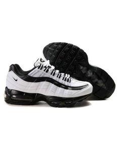 Nike Air Max 95 All Black White Trainers