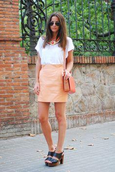 FASHIONVIBE: Orange Leather