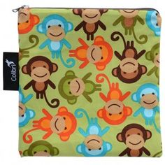 Featuring a water resistant nylon liner and high quality cotton outer fabric, our snack bags are bpa free, and FDA approved as food safe. Zippers are lead and n Eco Kids, Stroller Bag, Sandwich Bags, Snack Bags, Kids Backpacks, Reusable Bags, Unique Baby, Safe Food, Back To School