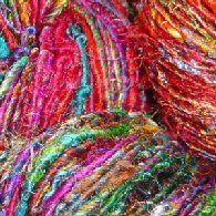 Wool Peddler: Recycled Silk & Banana Silk Yarns, Handpainted & Handspun Yarns