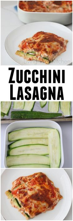 Gluten free, Vegetarian Zucchini Lasagna Recipe with Video Get extra veggies in your day with this healthy Zucchini Lasagna recipe that offers a fresh, summer take on a comfort food classic. Vegetarian Zucchini Lasagna, Vegetarian Recipes, Cooking Recipes, Healthy Recipes, Lasagna Food, Free Recipes, Zucchini Lasagne, Seafood Lasagna, Zucchini Noodles