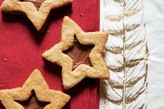 Hazelnut-Chocolate Linzer Cookies | saltandwind.com