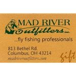 Mad River Outfitters Gift Cards....use in the store or on the web!