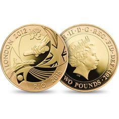 London 2012 Rio Handover Gold Coin | The Royal Mint