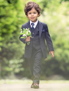 Shop boys navy formal suit Philip at Roco. Boys navy suit with free UK delivery & 30 day returns. Boys Wedding Suits, Boys Formal Suits, Boys Suits, Wedding With Kids, Wedding Navy, Dress Wedding, Wedding Flowers, Boys Navy Suit, Toddler Boy Fashion
