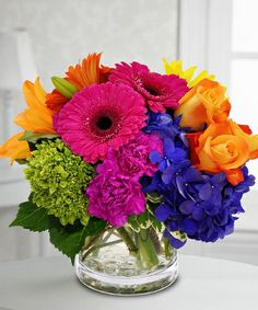 Bright Bouquet - love these colors