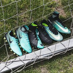 Nike has released one of the most stunning boot collections of the year this weekend. The new Nike Women's Euro 2017 football boots collection brings new colorways to the Hypervenom, Magista, Mercurial and Tiempo. Nike Football, Football Shoes, Nike Soccer, Football Cleats, Womens Soccer Cleats, Football Players, Nike Free Shoes, Running Shoes Nike, Nike Shoes