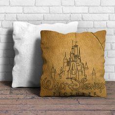 Walt Disney Logo Sketch Pillow | Aneend - Aneend.inc - 1