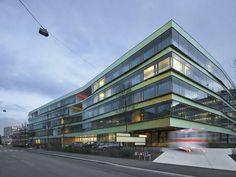 Nominated for DETAIL Prize 2012:    Universitäts-Kinderspital beider Basel, Basel, Switzerland  Stump & Schibli Architekten BSA