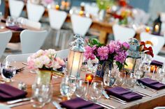 Nonfloral Centerpieces Lanterns And Tins