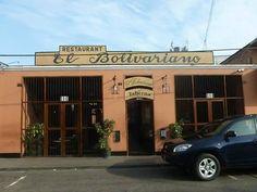 """Frontis del restaurante """"El Bolivariano"""""""