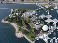 #Ontario Place amusement park - Toronto, Ontario