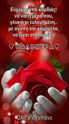 Beautiful Pink Roses, Greek Quotes, Love Words, Birthday Wishes, Mom And Dad, Good Morning, Google, Photos, Greek