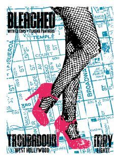 GigPosters.com - Bleached