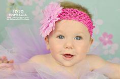 Little girl:) www.foto-inspiracja.pl tutu & pink headband