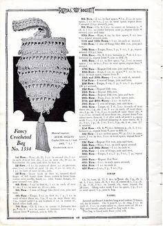 Royal Society Crochet & knitting No.15, New York, 1920 - Doris - Álbumes web de Picasa