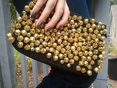 DIY Christian Louboutin inspired bel clutch