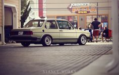 10 Years of Memories - Tobias Aldrich's MK1 Jetta Coupe - Stance Works
