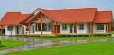 Sencillas - I Cabin, House Styles, Outdoor Decor, House Architecture, Home Decor, Farm House, Model, Wooden House Plans, Prefab Houses
