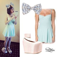 Melanie Martinez: Mint Green Skater Dress