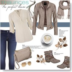 A fashion look from August 2015 featuring maurices blouses, maurices jackets and maurices leggings. Browse and shop related looks.