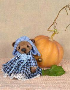 Greta by Nata Tovt Cotton Lace, Art Oil, Plush, Teddy Bear, Sewing, Animals, Fimo, Dressmaking, Animales