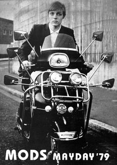 The Mods are Here: A Vespa Subculture and Lifestyle. Mod Scooter, Lambretta Scooter, Scooter Girl, Ska Music, Fred Perry Polo Shirts, Mod Girl, Teddy Boys, Rude Boy, Skinhead