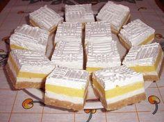 Emeletes élvezet - sütés nélkül! Ez a kedvenc sütim - Blikk Rúzs Hungarian Desserts, Hungarian Cake, Romanian Desserts, Hungarian Recipes, No Bake Desserts, Delicious Desserts, Dessert Recipes, Sweet Cookies, Cake Cookies