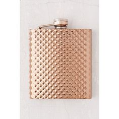 Faceted Flask ($20) ❤ liked on Polyvore featuring home, kitchen & dining, bar tools, stainless steel hip flask, stainless steel flask, urban outfitters flask, stainless flask and urban outfitters