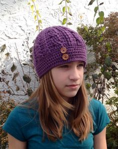 Crochet Cable Hat by BellaBeansCrochet on Etsy, $20.00