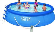 Zwembad Easy Set Incl. Filter/Pomp (Ø:457cm, H:107cm) (Intex) #zwembad #zwembaden #intex