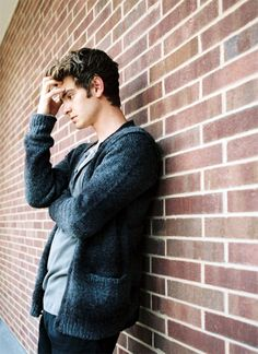 Andrew Garfield...love you in The Social Network