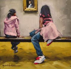 """In The Pink"" - Original Fine Art for Sale - © Karin Jurick"