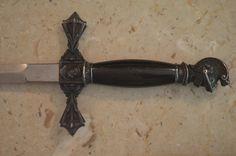 Antique Masonic Knights Templar Sword with Sheath M C Lilley Co Ohio   eBay