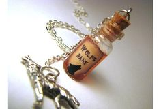 Magic Potion Bottle Necklace - 1 CUSTOM You Design Glass Bottle Cork Necklace - Potion Vial Charm - Liquid Shimmer or Glitter - Magic Spells Cork Necklace, Bottle Necklace, Necklace Charm, Copper Necklace, Spoon Necklace, Copper Jewelry, Bottle Jewelry, Bottle Charms, Glass Jewelry