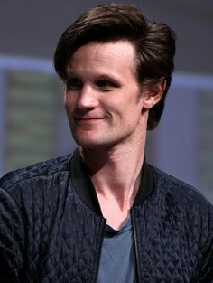 """Matt Smith speaking at the 2012 San Diego Comic-Con International. The 2013 Christmas special 'The Time of the Doctor"""" was the last to feature Smith regularly as the Doctor. Doctor Who Cast, Eleventh Doctor, British Men, British Actors, San Claflin, Matt Smith Actor, Happy 35th Birthday, Matt Smith Doctor Who, Eddie Redmayne"""
