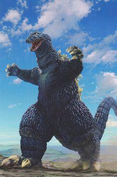 My favorite Godzilla suit by my favorite Kaiju artist.  Godzilla '62 from KING KONG VS GODZILLA by the amazing Yuji Kaida.